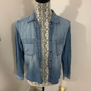 Express Jean Button Up
